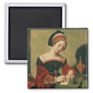 Portrait of a Lady as the Magdalen Magnet