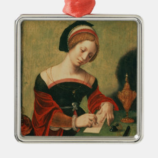 Portrait of a Lady as the Magdalen Metal Ornament