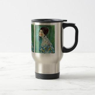Portrait of a Lady by Gustav Klimt Mugs
