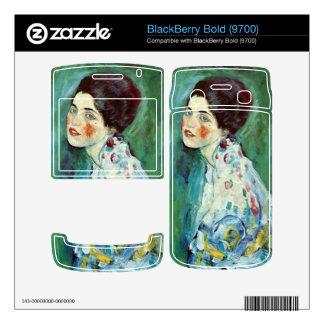 Portrait of a Lady by Gustav Klimt BlackBerry Bold Skin