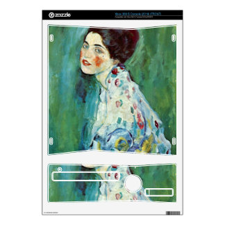 Portrait of a Lady by Gustav Klimt Xbox 360 S Skin