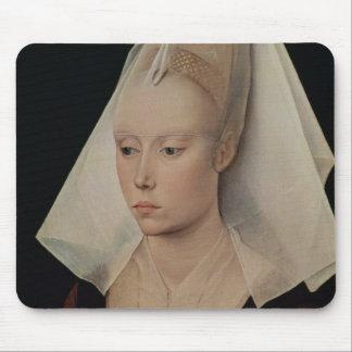 Portrait of a Lady, c.1450-60 Mouse Pad