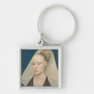 Portrait of a Lady, c.1460 (oil on panel) Keychain