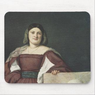 Portrait of a Lady , c.1510-12 Mouse Pad