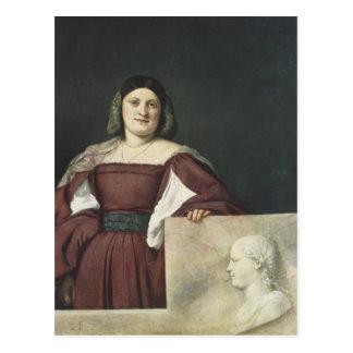 Portrait of a Lady , c.1510-12 Postcard