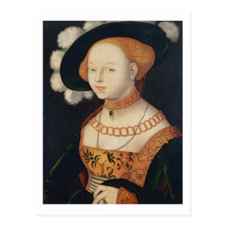 Portrait of a Lady, c.1530 Post Cards