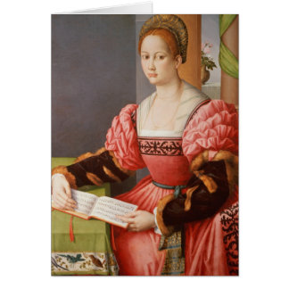 Portrait of a Lady Card