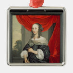 Portrait of a Lady Christmas Tree Ornaments