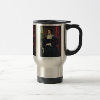 Portrait Of A Lady Dressed In Black Mugs