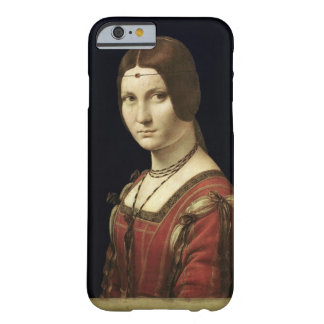 Portrait of a Lady from the Court of Milan Barely There iPhone 6 Case