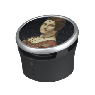 Portrait of a Lady from the Court of Milan Bluetooth Speaker