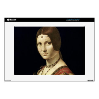 Portrait of a Lady from the Court of Milan Laptop Skins