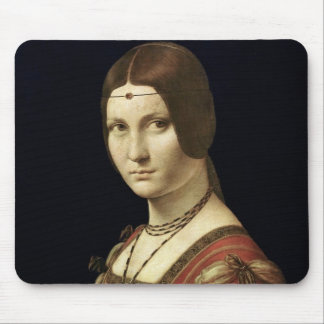 Portrait of a Lady from the Court of Milan Mouse Pad