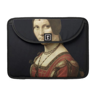 Portrait of a Lady from the Court of Milan Sleeve For MacBook Pro