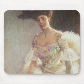 Portrait of a Lady in Evening Dress, 1903 Mouse Pad