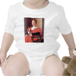 Portrait Of A Lady In Red Dress By Pontormo Jacopo Baby Creeper