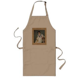 Portrait of a lady long apron