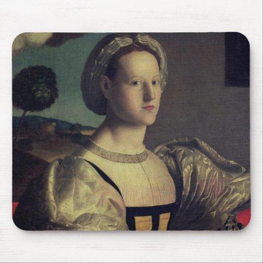 Portrait of a lady mousepad