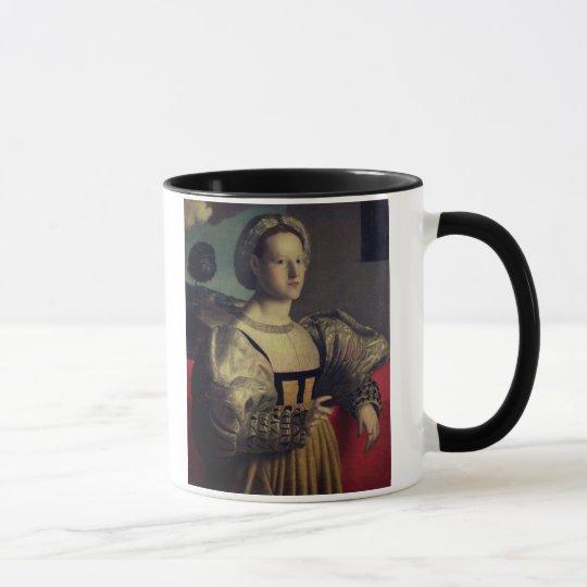 Portrait of a lady mug