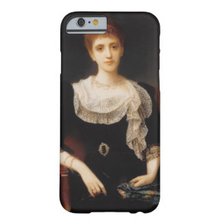 Portrait of a Lady (oil on canvas) 2 iPhone 6 Case