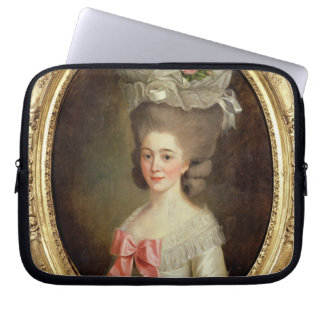 Portrait of a Lady (oil on canvas) Computer Sleeve
