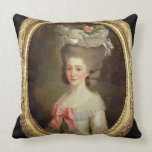 Portrait of a Lady (oil on canvas) Pillow