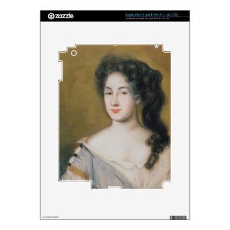 Portrait of a Lady (pastel on paper) iPad 3 Skin