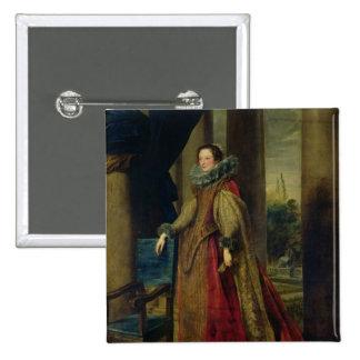 Portrait of a Lady Pinback Button