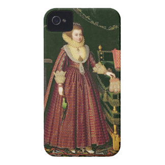 Portrait of a Lady, Possibly Elizabeth, Countess o iPhone 4 Cover