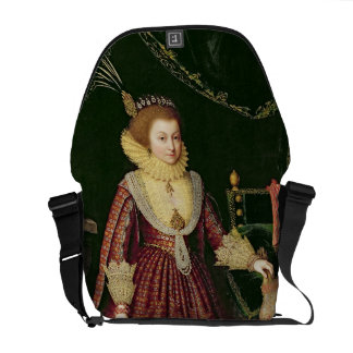 Portrait of a Lady Possibly Elizabeth Countess o Messenger Bag