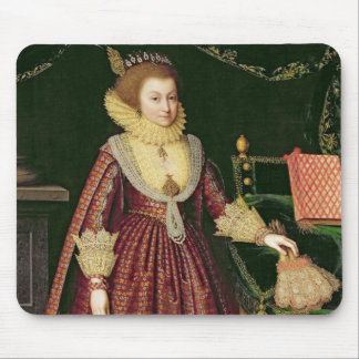 Portrait of a Lady, Possibly Elizabeth, Countess o Mouse Pad