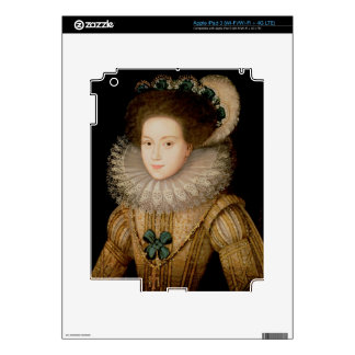 Portrait of a Lady, possibly Mary Queen of Scots ( Decal For iPad 3