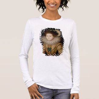 Portrait of a Lady, possibly Mary Queen of Scots ( Long Sleeve T-Shirt