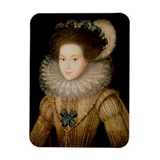 Portrait of a Lady, possibly Mary Queen of Scots ( Magnet