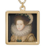 Portrait of a Lady, possibly Mary Queen of Scots ( Pendants