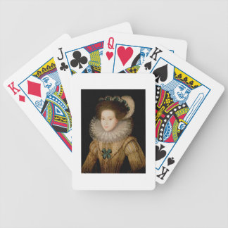 Portrait of a Lady, possibly Mary Queen of Scots ( Poker Cards