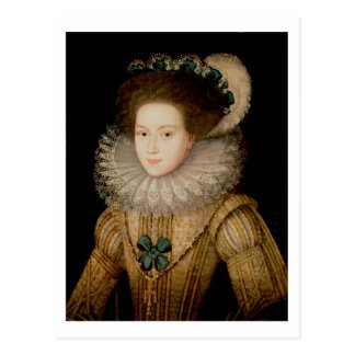 Portrait of a Lady, possibly Mary Queen of Scots ( Postcard