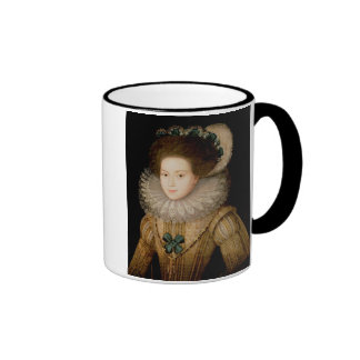 Portrait of a Lady, possibly Mary Queen of Scots ( Ringer Coffee Mug