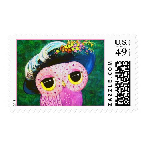 Portrait Of A Lady Postage Stamp