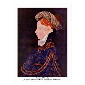 Portrait Of A Lady Postcards