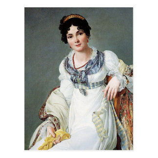 Portrait of a lady postcard