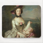 Portrait of a Lady, said to be Elizabeth, wife of Mouse Pad