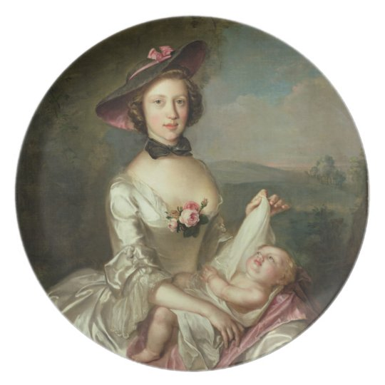 Portrait of a Lady, said to be Elizabeth, wife of Plate