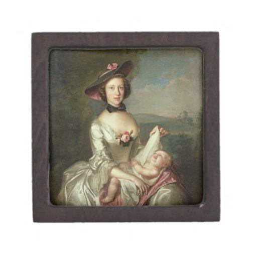 Portrait of a Lady, said to be Elizabeth, wife of Premium Trinket Box