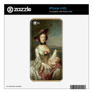 Portrait of a Lady, said to be Elizabeth, wife of Skin For iPhone 4