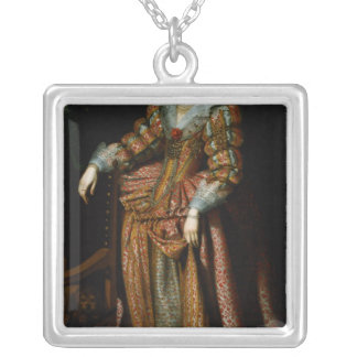 Portrait of a Lady said to be from the Silver Plated Necklace