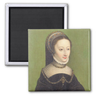 Portrait of a lady, said to be Jeanne d'Albret, mo Magnet