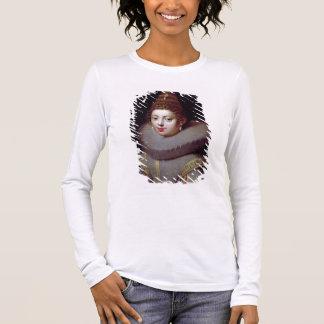 Portrait of a Lady, said to be Marguerite de Valoi Long Sleeve T-Shirt