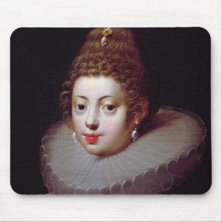 Portrait of a Lady, said to be Marguerite de Valoi Mouse Pad
