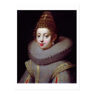 Portrait of a Lady, said to be Marguerite de Valoi Postcard